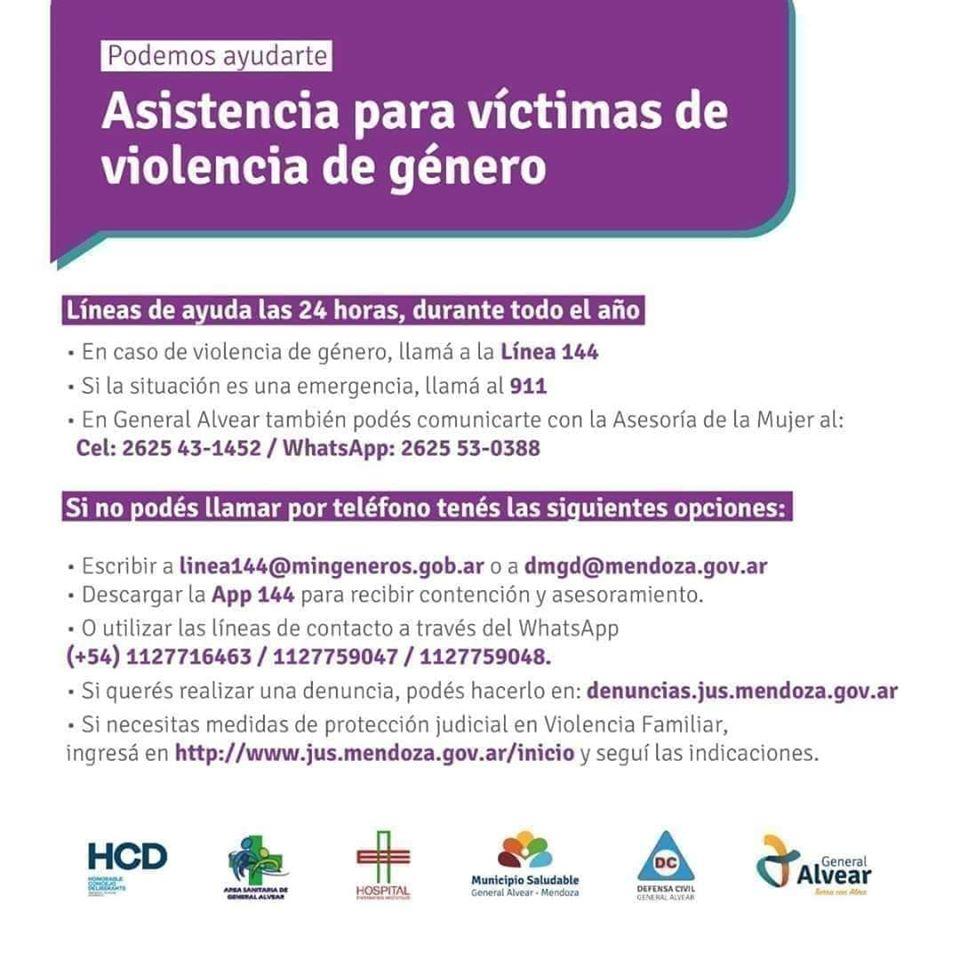 Asistencia Victimas de Violencia de Genero